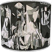Premier Lighting 12 Inch Table Guernica art