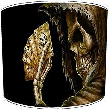 Premier Lighting 8 Inch Ceiling gothic skull
