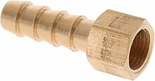 Premium Brass Hose Fitting Barb Adapter Connector
