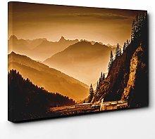 Premium Canvas Print (24x16 Inch / 60x40cm) Three
