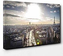 Premium Canvas Print (30x20 Inch / 76x50cm) Frog 4
