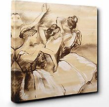Premium Canvas Print (30x20 Inch / 76x50cm) Sunset