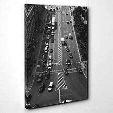 Premium Canvas Print Wall Art (24x16 Inch /
