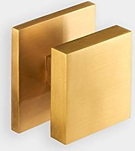 Premium Contemporary Modern Large Solid Brass Gold