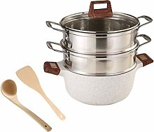 Premium Heavy Duty Steamer Cooking Pot Household
