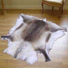 Premium Quality Natural Reindeer Hide Rug
