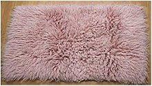 Premium Shaggy Flokati Greek Rug Pastel Pink - 70