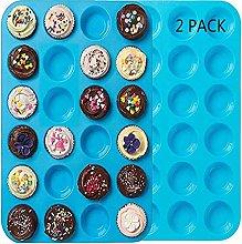 Premium Silicone Mini Muffin & Cupcake Baking Pan