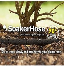Premium Soakerhose Irrigation Pipe - 25M Length