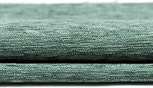 Premium Soft Duck Egg Blue Chenille Fabric By The