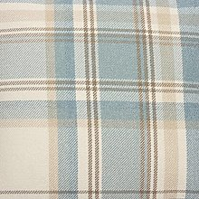 Premium Soft Duck Egg Blue Tartan Fabric By The