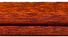 Premium Soft Terracotta Orange Chenille Fabric By