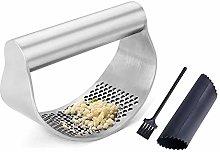 Premium Stainless Steel Garlic Press Crusher
