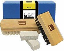 Premium Suede Brush Nubuck Cleaner Crepe Brush and