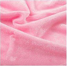 Premium Velvet Fabric Soft Plush Velour Material