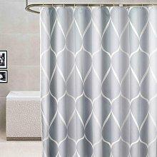 Premium Waterproof Mildew Proof Fabric Shower