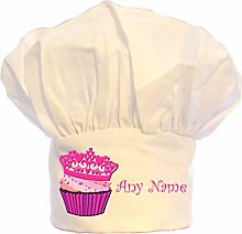 PRESENT2FUTURE PERSONALISED CUPCAKE CHEFS HAT 100%