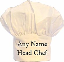 PRESENT2FUTURE PERSONALISED HEAD CHEF TEXT CHEFS
