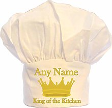 PRESENT2FUTURE PERSONALISED KING OF THE KITCHEN