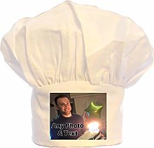 PRESENT2FUTURE PERSONALISED PHOTO CHEFS HAT 100%