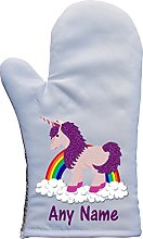 PRESENT2FUTURE PERSONALISED UNICORN RAINBOW OVEN