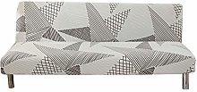 presentimer Armless Sofa Cover,Polyester Spandex
