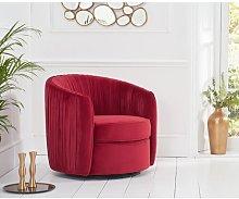 Presidio Tub chair Canora Grey Upholstery Colour: