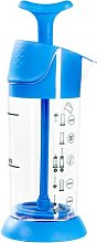 pressca Milk Frother, Manual, Small and Portable,