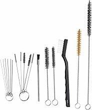Pressure 17Pcs Spray Gun Nylon Cleaning Brush Set