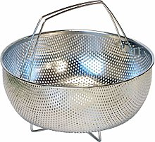Pressure Cooker Basket, Silver, 22 x 22 x 10 cm