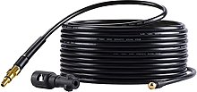 Pressure Washer Hose Extension, 10m Drain Pipe