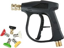 Pressure Washer Spray Gun with 5 Colors Nozzles