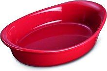 Prestige Create Ceramic 22 cm Gratin Dish - Red