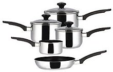 Prestige Everyday Non Stick Induction 5 Piece Pan