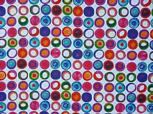 PRESTIGE FABRICS Gorgeous Funky colourful Circles