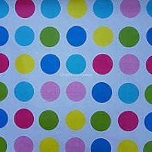 PRESTIGE Large Multicoloured Twister Spots PVC