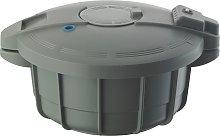 Prestige Microwave 2.2L Pressure Cooker - Grey.