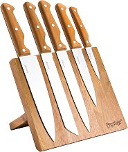 Prestige Moments 6 Piece Magnetic Knife Block.