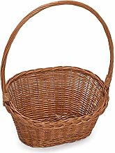 Prestige Wicker Flower Wicker Gift Basket with