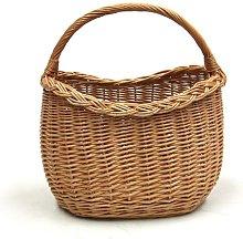 Prestige Wicker Wicker Basket with Handle,