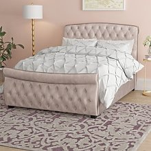 Preston Upholstered Ottoman Bed Frame Canora Grey
