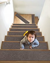 Pretigo 7 Pack Non Slip Carpet Stair Treads -
