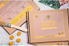 Pretty Bee Fresh - Beeswax Wrap DIY Kit - mustard