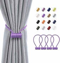 Pretty Jolly 4 Pack Magnetic Curtain Tiebacks 16