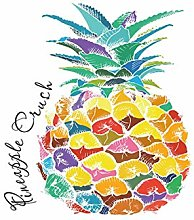 Pretty Pineapple Waterproof Polyester Material