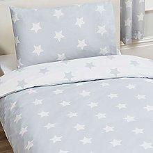 Price Right Home Grey and White Stars Junior Duvet