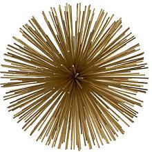 Prickle brass Small Decoration - / Ø 18 cm -