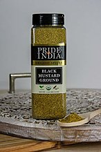 Pride Of India- Black Mustard Seed Ground - 18 oz