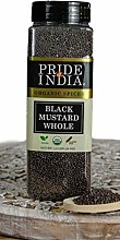 Pride Of India- Black Mustard Seed Whole - 24 oz