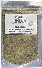 Pride Of India- Black Pepper Ground - 8 oz (227gm)